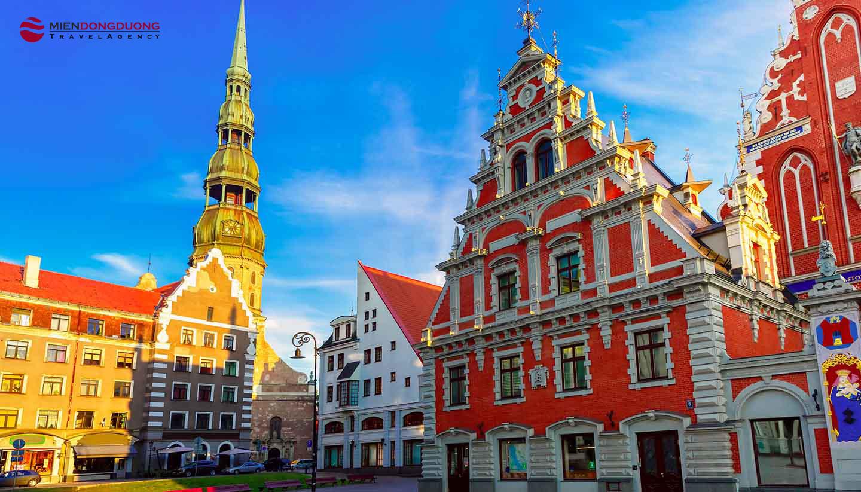 ĐAN MẠCH - NAUY - LITVA - LATVIA - ESTONIA - THỤY ĐIỂN - PHẦN LAN